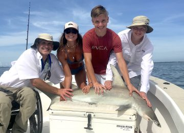 Captiva Fishing, Hammerhead Sharks, June 20!