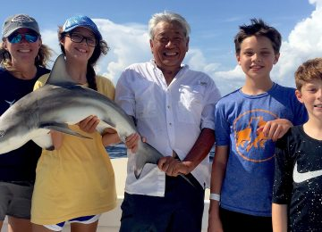 Captiva Fishing, Blacktip Shark, July 9!